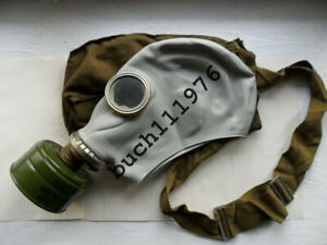 RUBBER Gas mask GP-5 russian  soviet military grey  new, size 0,1,2,3,4
