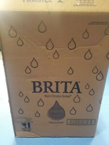 Brita Longlast Everyday Water Filter Pitcher, Large 10 Cup 1 Count, Black NIB