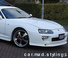 TRD Style Front Lip to fit Toyota Supra (Spoiler Splitter bodykit/kit/bumper)