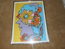 Peter Max Mexico Serigraph Signed Numbered 79/100 1970