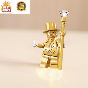 PAINTER BOB ROSS MODEL RARE MINIFIGURE HERO MARVEL DC LEGO Moc MR GOLD C3P0