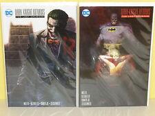 BATMAN DARK KNIGHT RETURNS: THE LAST CRUSADE - 2 Variant Set BERMEJO Sienkiewicz
