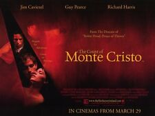 THE COUNT OF MONTE CRISTO Movie POSTER 11x17 B James Caviezel Guy Pearce Richard