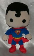 "Rare 2010 FUNKO PLUSHIES DC SUPERHERO 9"" Plush JUSTICE LEAGUE Classic SUPERMAN"