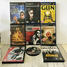 Playstation 2 PS2 Games x9 WWF Smackdown Headhunter Red Faction 2 Getaway Mummy