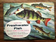 Freshwater Fish - Brooke Bond Tea Cards in Album 1960