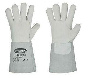 Rindvollleder Handschuhe V 53 Schweißerhandschuhe Lederhandschuhe stronghand®