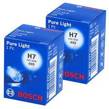 2x BOSCH H7 1 987 302 777 Pure Light Halogen Scheinwerfer Lampe NEU