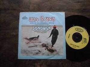 "DONOVAN CELIA OF THE SEALS with Danny Thomson RARE 7"" ITALIAN PR PIC SLEEVE EXC"