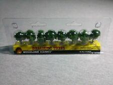 Woodland Scenics N, HO, O Scale Medium Green Realistic Trees ~ TS