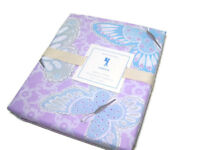 Pottery Barn Kids Multi Colors Purple Sabrina Butter Fly Twin Duvet Cover New