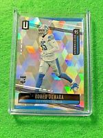 ROMEO OKWARA PRIZM RC CARD REFRACTOR SP # /135 LIONS RC 2019 UNPARALLELED CUBIC