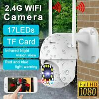 17LED WiFi IP Camera PTZ Pan Tilt 1080P HD Security IP IR Camera Night Vision US