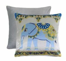 Polyester Elephant Floral Decorative Cushions & Pillows