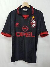 Maglia calcio Milan Lotto Opel vintage 90 shirt camiseta soccer Milan vintage 90