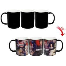 █ Eminem Collage Heat Sensitive Color Change Magic Coffee Cup Mug BS006