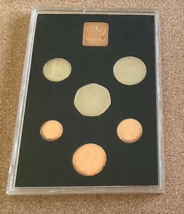 1971 Royal mint Coin Collection Uncirculated Elizabeth R Shilling Half Crown