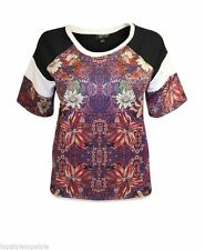 Polyester Casual Cropped Topshop Tops & Shirts for Women