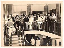 U067 Photographie vintage Originale Bal masqué déguisement Thème Marine
