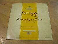 "10"" LP Joseph Haydn Sinfonie Nr.94 G-dur Paukenschlag Vinyl DG LP 16 012 HI-FI"