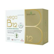 Biovitum Vega B12 120 tabletek Colfarm BNIB Fast Dispatch