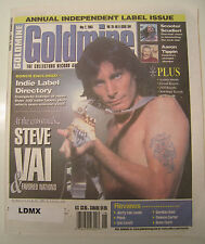 GOLDMINE MAGAZINE -  MAY 2, 2003 - STEVE VAI, AARON TIPPIN, GREG BROWN, MELANIE