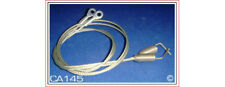 1995-99 MITSUBISHI ECLIPSE CONVERTIBLE TOP HOLD DOWN CABLES, PAIR. 95-99 ECLIPSE