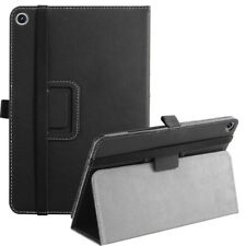 For Asus ZenPad Z8S Case Synthetic Leather Stand Cover Black