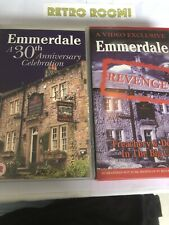 Emmerdale - A 30th Anniversary And Revenge - Vhs Combo