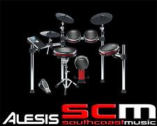 ALESIS CRIMSON MESH KIT 5pce Electronic Drum Kit with Mesh Heads FREE HEADPHONES