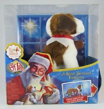 New Elf On The Shelf Pets St Saint Bernard Tradition Book And Dog Plush Toy