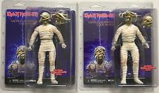 IRON MAIDEN Eddie Powerslave Mummy Action Figure Variants by NECA
