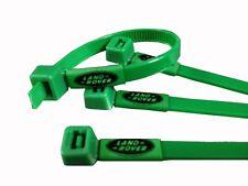Land ROVER INSIGNIA IMPRESA ataduras de cables en Verde reparaciones hechas en estilo 40pc Pack