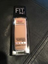 Maybelline Fit Me Foundation OCTINOXATE SPF18 235 Pure Beige unsealed FREE SH