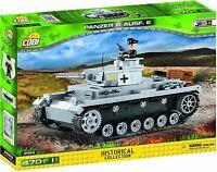 Cobi Petit Armée - Panzer Pfw III Aus F/E Construction Jouet Enfants Gris