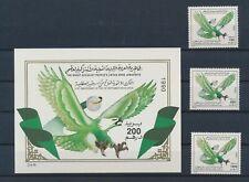 LM80475 Libya eagle animals birds fine lot MNH