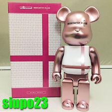 Medicom 400% Bearbrick ~ Medicom Toy Plus Be@rbrick Pink Color