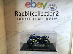 """Die Cast """"Suzuki Gsv-R Jr. 2002"""" Moto Escala 1/24"""
