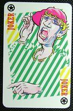 1 x Joker playing card Captain Sensible – Richards Beards – Sony Tape