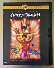 1973/1998 Enter the Dragon, Bruce Lee, 25th Anniversary Special Ed., kung fu fig