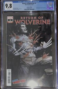 Return of Wolverine #1 NYCC 2018 Exclusive Variant CGC 9.8
