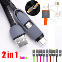 1M USB 3.1 Type-C to Micro USB Converter USB-C Adapter Data Fast Charger Cable