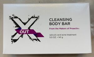 New Proactiv X-OUT CLEANSING BODY BAR 5 oz Acne Soap Cleanser Sealed Xout