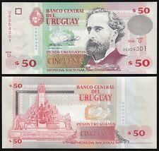 Uruguay 50 Pesos, 2008, P-87a, UNC