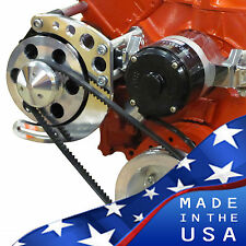 Small Block Chevy Alternator Bracket Electric Water Water Pump SBC 350 EWP LWP