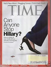 TIME Magazine Can Anyone Stop Hillary? Pot Article January 27 2014
