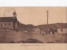 POSTCARD RESIDENCE SECTION KENNETT CALIFORNIA 1909  11-32