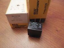 PHILIPS ECG Component Coil RLY6190 SPDT 10A 10 A Amp 5-6 V Volt VDC Lot of 2 New