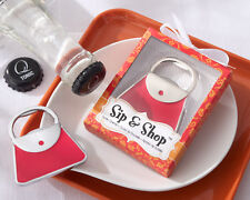 Sip & Shop Purse Shaped Bottle Opener Bridal Shower Wedding Favors