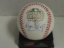GREGOR BLANCO SIGNED 2012 WORLD SERIES BASEBALL SAN FRANCISCO GIANTS